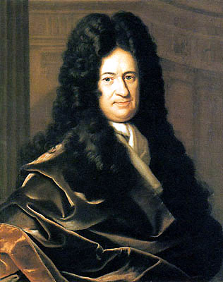 Portrait of Gottfried Leibniz by Christoph Bernhard Francke