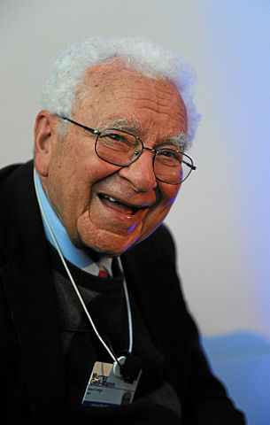 Murray Gell-Mann at the World Economic Forum Annual Meeting, 2012